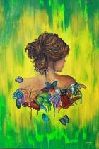 La chica de las mariposas