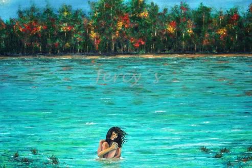 La chica del lago