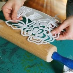 Plantilla de Goma Eva para texturas