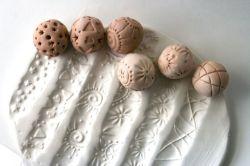 Sellos de bola para texturas