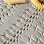 Textura con macarrones de espirales
