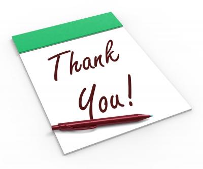 carta de agradecimiento por servicios a un proveedor